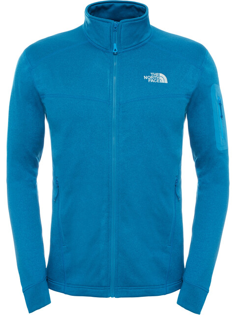The North Face M's Hadoken Full Zip Jacket Banff Blue Dark Heather